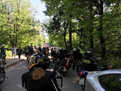 III Świętokrzyskie Rozpoczęcie Sezonu Motocyklowego - wjazd na Święty Krzyż
