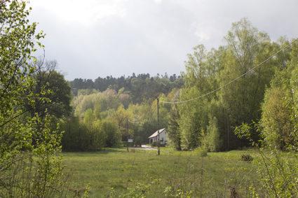Leśniczówka w Dobrzeszowie
