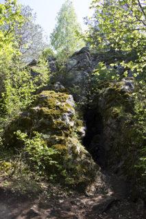 Miedzianka - wejście do sztolni