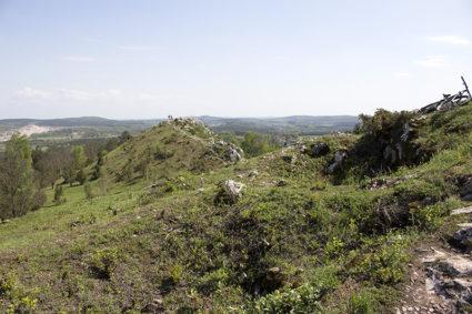 Miedzianka - widok na drugi szczyt