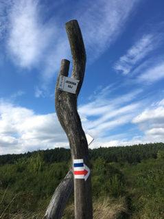 Znak z oznaczeniem szlaku