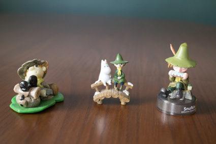 Figurki Włóczykija